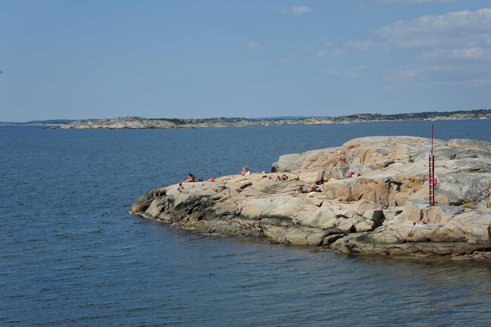 Stora Amundön Bad Naturvårdsskydd Saknas
