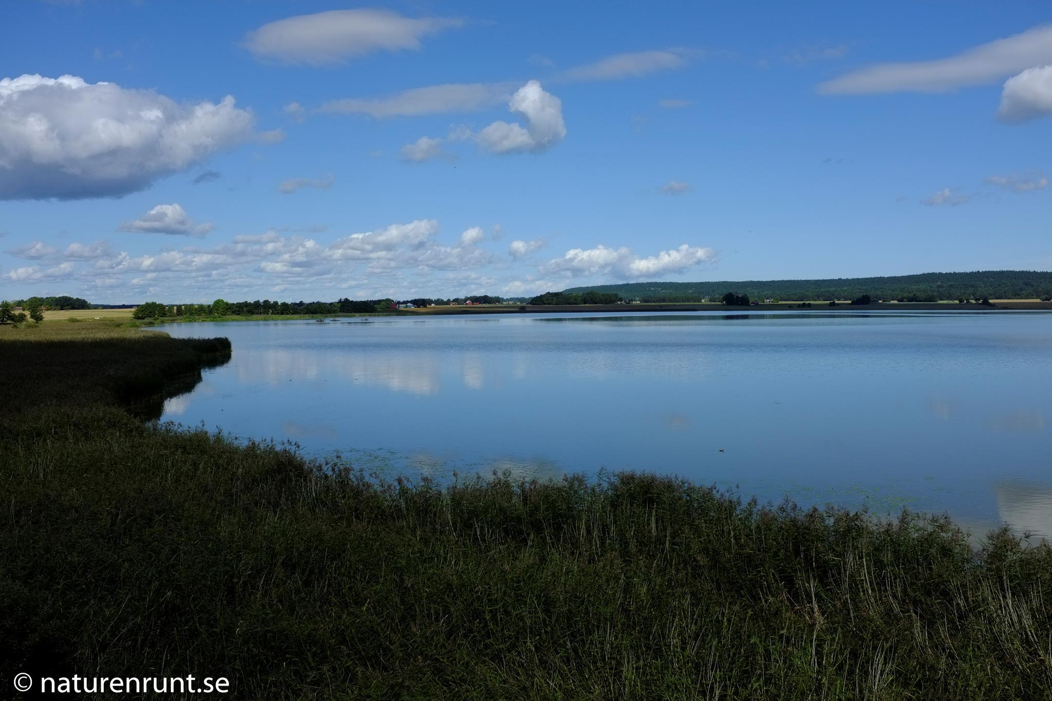 Hullsjön - vy från västra sidan
