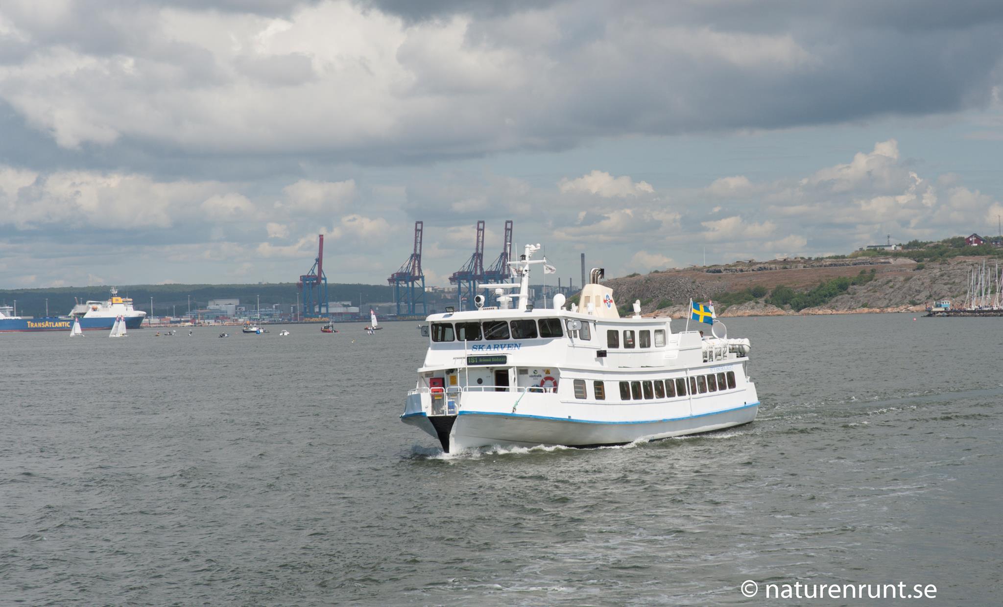 Skärgårdsbåten Skarven - Från Saltholmen till södra skärgården