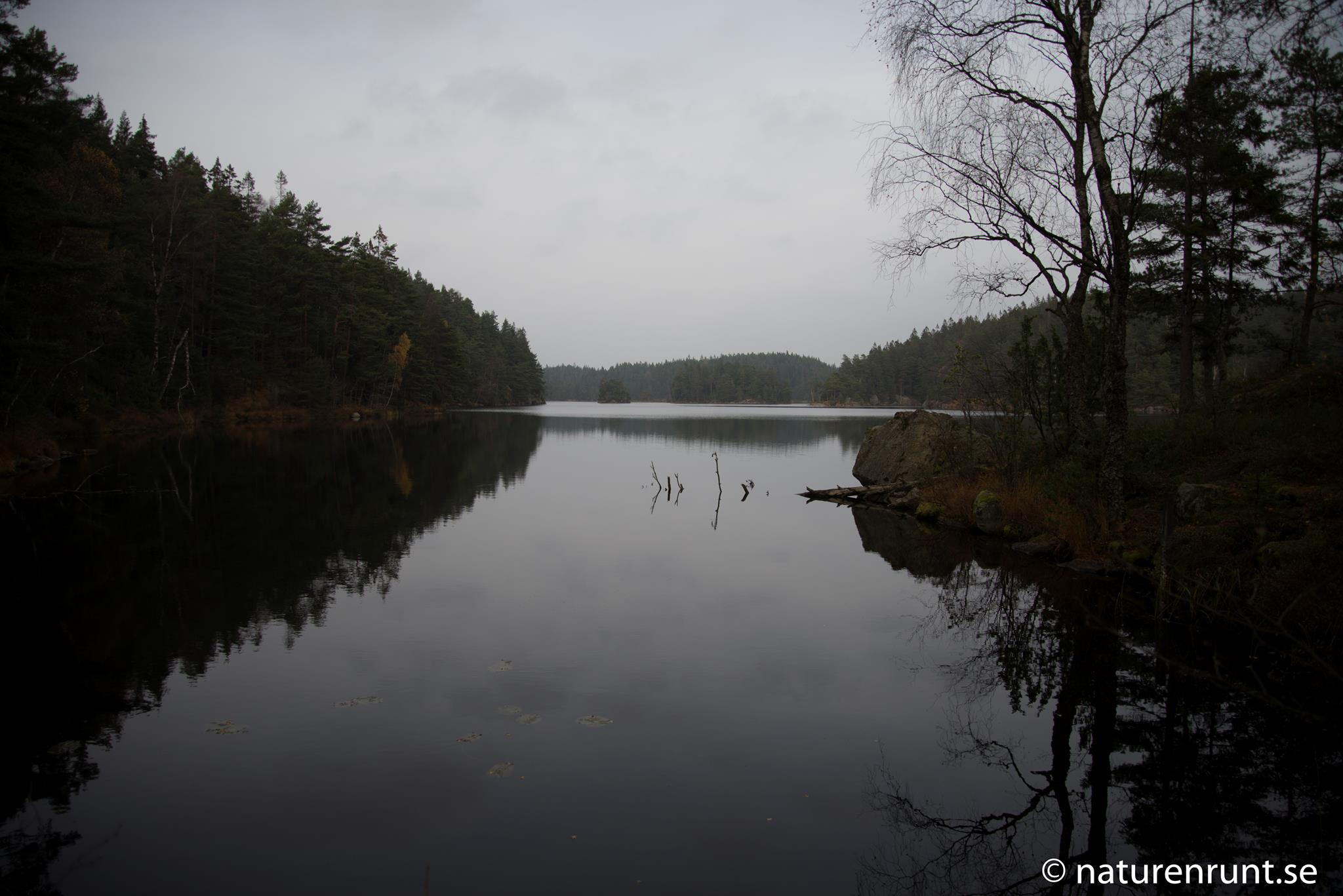 Härsevattnet - Vy från sydväst