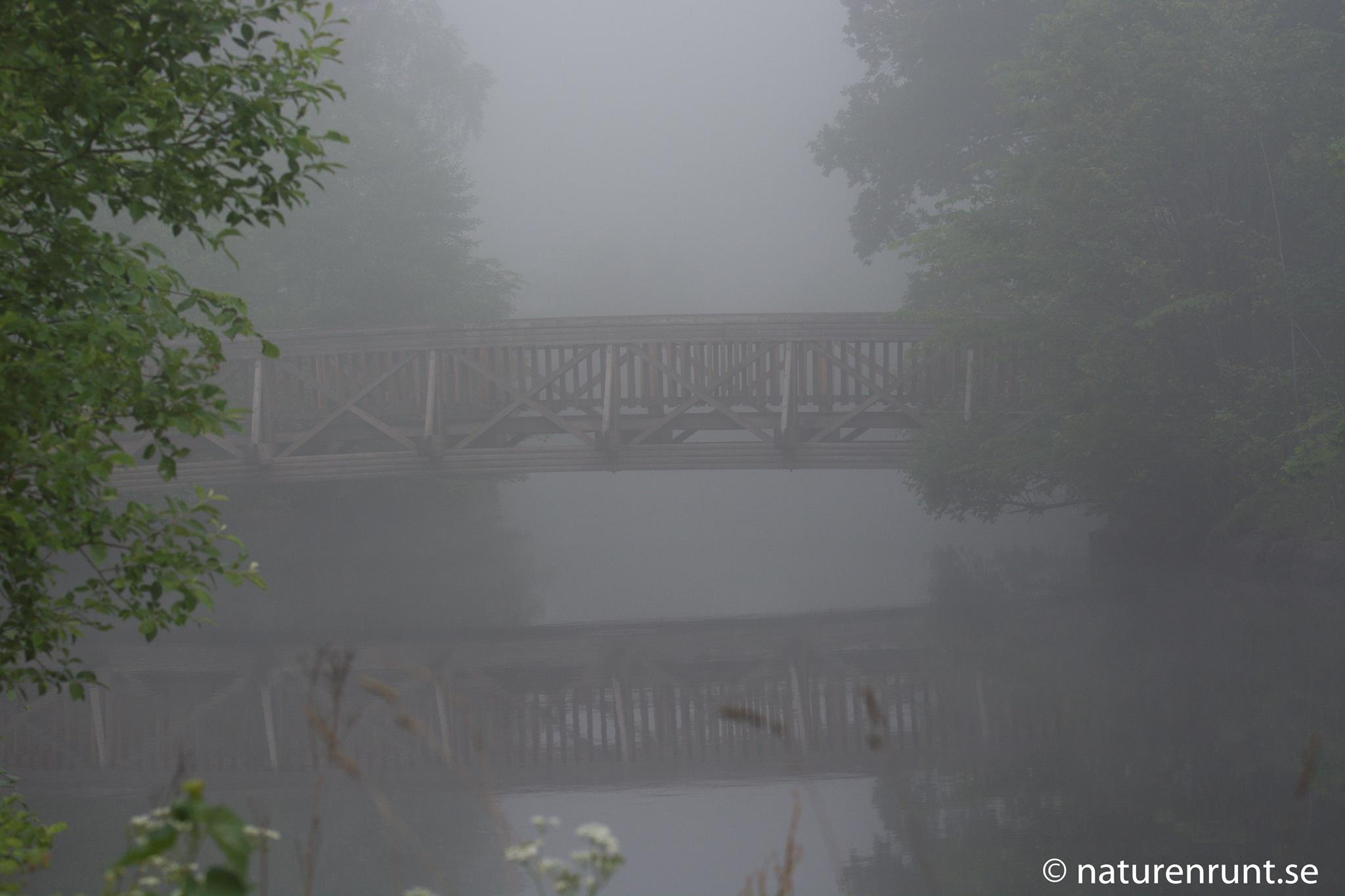 Jonsered - bron till badplatsen