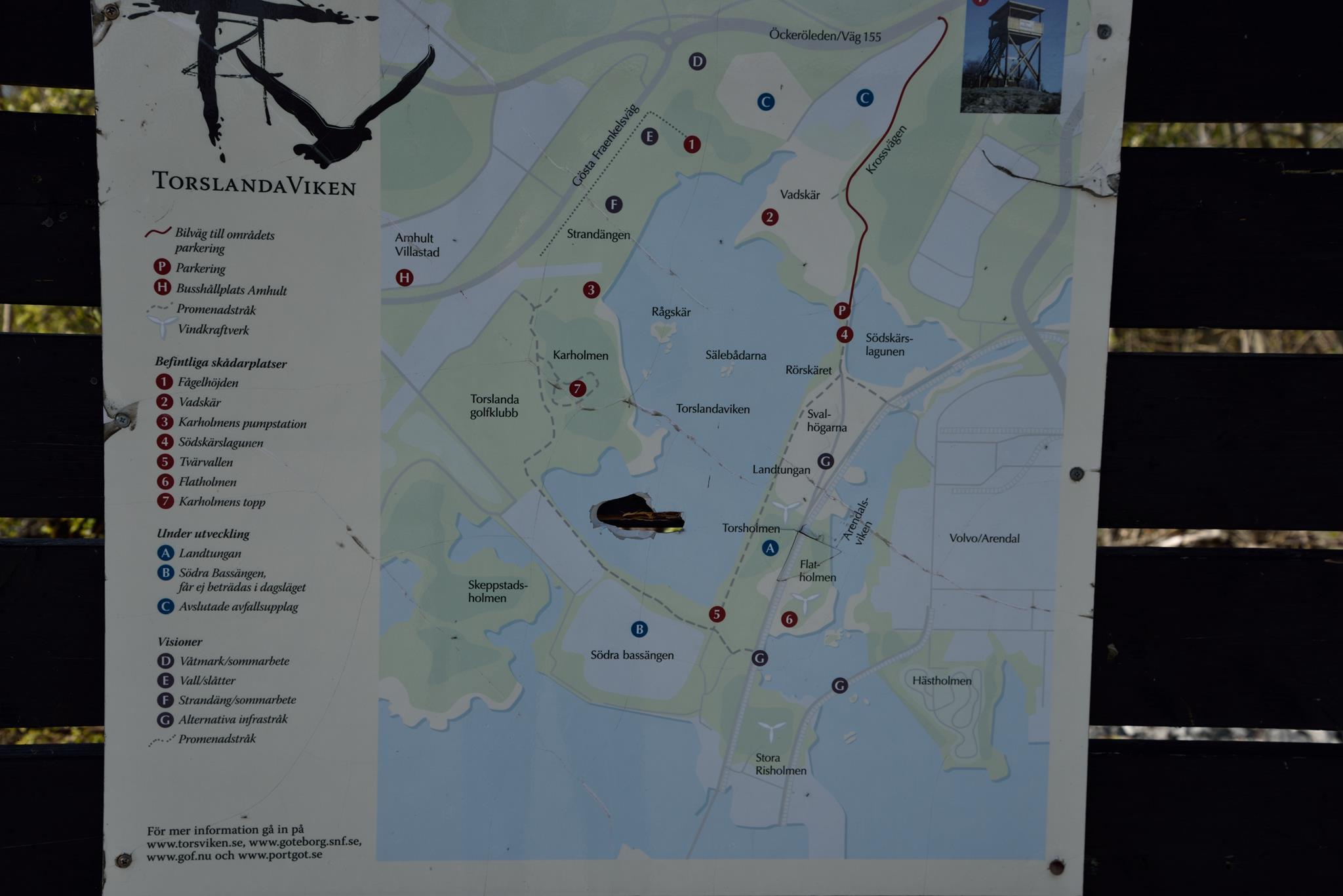 Karta - Översikt över Torslandaviken